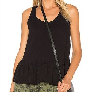 Current/Elliott 100% Cotton Ballet Tank